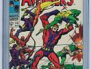 Avengers #55 (Aug 1968, Marvel) CGC VF/NM 9.0 1st appearance of Ultron