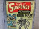 TALES OF SUSPENSE #39 (Iron Man 1st app. & origin) CGC 4.5 Marvel Comics 1963