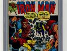 Iron Man #55 CGC 9.0 1st Thanos Drax Destroyer Marvel Bronze Age Comic Avengers