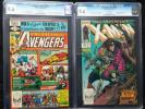 Avengers Annual #10 & X-Men #266 CGC 9.6 1st Rogue Gambit Wh Pgs Universal Lot