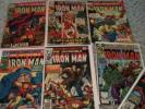 Iron Man Comic Lot #20,33,64,90,101,132