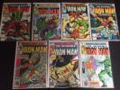 Iron Man #130-137 NM/NM+ 7 Books HULK ANT-MAN Marvel 1980 No Reserve