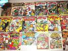 Spider-man UK Comics Weekly 1972-83 & Mighty World Of Marvel #3 Collection Lot