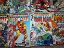 MARVEL BRONZE AGE COMIC COLLECTION JOB LOT IRON MAN 122-134 X 9 ISSUES