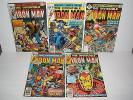 Marvel Comics Iron Man # 101 102 103 104 105 Nice Run
