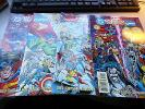 MARVEL VERSUS DC / DC VERSUS MARVEL # 1, 2, 3, 4   Near Mint   Complete Set B25