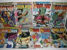 Marvel Comics Iron Man # 129 130 131 132 134 135 136 137 138 139 High Grade Run