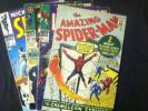 Amazing Spider-man #1 Iron Man #1 Capt. America #100 Nick Fury #1 Lot