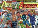Avengers #121 122 123 COMPLeTe STORY Thor Iron Man Captain America Black Panther