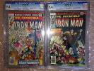 Iron Man 99 and 101 CGC 9.4 Bronze Age 1977 Newsstand Editions