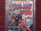 Iron Man #120 CBCS 9.2 NM- not CGC 1st app Justin Hammer, signed by Bob Layton