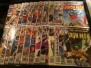 Iron Man Lot,1st Rhodes #'s 91,101,103,105-108,113-123,135,139,146,162,168-169