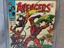 THE AVENGERS #55 (Ultron 1st app., White pgs.) CGC 9.0 VF/NM Marvel Comics 1968