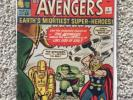 MARVEL COMICS AVENGERS #1 VG 4.0 - 4.5 NOT CGC MID GRADE HOT