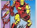 Iron Man #126 VF/NM Signed w/COA Bob Layton 1979 Classic Armor Marvel Comics