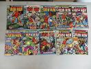 IRON MAN 10 ISSUE COMIC LOT 17 26 41 58 60 72 76 83 95 101 MARVEL BRONZE