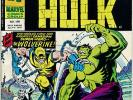 Incredible Hulk 181 UK* Mighty World of Marvel 198 8 1976 +FREE Captain Britain