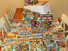120+ huge IRON MAN + INCREDIBLE HULK + AMAZING SPIDER-MAN lot Marvel Comics