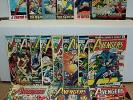 Avengers 101-150 (miss.9bks) SET Iron Man, Captain America, Thor (set# 4910)