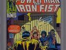 Power Man and Iron Fist #122 (Mar 1986, Marvel) CGC GRADED 9.4