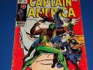 Captain America #118 Silver Age 2nd Falcon Wow