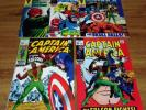 Captain America #117 118 115 116 119 High Grade VFNM Glossy Lot Falcon Avengers