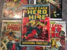 LUKE CAGE Hero For Hire No. 1 1972 Origin Issue Marvel KEY ISSUE LOT HOT HTF