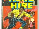 Luke Cage HERO FOR HIRE #1 Sensational Origin Issue Marvel Comic Book   VG