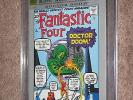 FANTASTIC FOUR #5 CGC 9.8 SS Signed by Stan Lee Marvel Milestone Edition Dr Doom