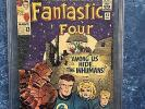Fantastic Four #45 (Dec 1965, Marvel) CGC 6.0 First App of Inhumans