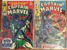Captain Marvel (Marvel,Vol.1) lot incl. #5,16, 40,41,43,44,46-49,51,54,57 & more