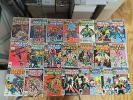 LUKE CAGE POWER MAN 22 ISSUE BRONZE COMIC RUN LOT 53-122 MARVEL IRON FIST