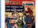 Fantastic Four #27 The First Doctor Strange Crossover Sub-Mariner App. 4.5 VG+