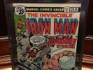 IRON MAN #120 CGC 9.6 NM+ MARK JEWELERS INSERT WP HTF (ID 5763)