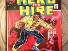 Marvel Comics - LUKE CAGE, HERO FOR HIRE Issue #1 and Issue #2