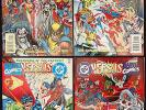 MARVEL VERSUS DC - DC VERSUS MARVEL 1-4 - SHOWDOWN OF THE CENTURY - 9.2 NM-
