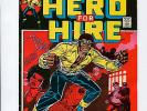 Hero for Hire #1 High Grade VF+ 8.5 Luke Cage HOT Origin Issue Marvel Bronze Age