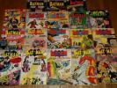 DC silver age Batman lot of 1810 & 12 cent covers.120,134,138,142,149 + + more