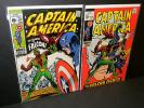 Captain America #105 #111 #117 #118 1st, 2nd Appearance of Falcon Marvel KEY