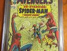 Avengers 11 1964 - Early Spider-Man Appearance (1st meeting) - CGC Blue 6.5