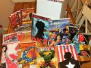 120+ Huge MARVEL DC COMICS lot Spider-man Batman Hulk X-Men X-23 Wolverine JLA