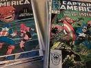 Captain America 57 Issue Modern Age Comic Run Lot - Marvel Inc. #357, #358, #362