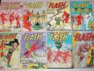 The Flash #132, 136, 138, 141-145 GROUP (8 Comics) DC 1962 FR/GD to VG