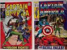 Captain America (1st) 118-150 + Annual 1-2 (Marvel 1969-1972) Full Run