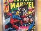 Stan Lee Signed Captain Marvel (1968 1st Series Marvel) #57