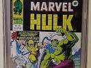 MIGHTY WORLD OF MARVEL #198 CGC 8.5 - Reprints HULK #181 *U.K. EDITION