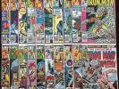 Bronze Age Marvel Comic Lot- Iron Man #120-139 NO RESERVE