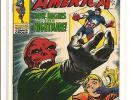 Captain America 115 Vol 1 High Grade $57 Value Marvel Silver Age Red Skull
