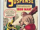 Tales of Suspense #40 CGC 7.0 Marvel 1963 2nd Iron Man Avengers WP E12 120 cm