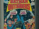 BATMAN AND THE OUTSIDERS  1  PGX 9.8  -  2nd appearance the Outsiders  CGC CBCS